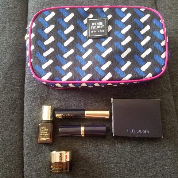 Estee Lauder Macy's makeup GIFT SET Parfume